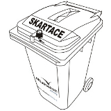 Lockable Waste Container