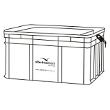Lockable Plastic Crate